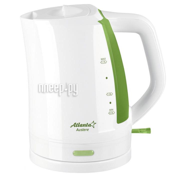 Чайник Atlanta ATH-617 White-Green