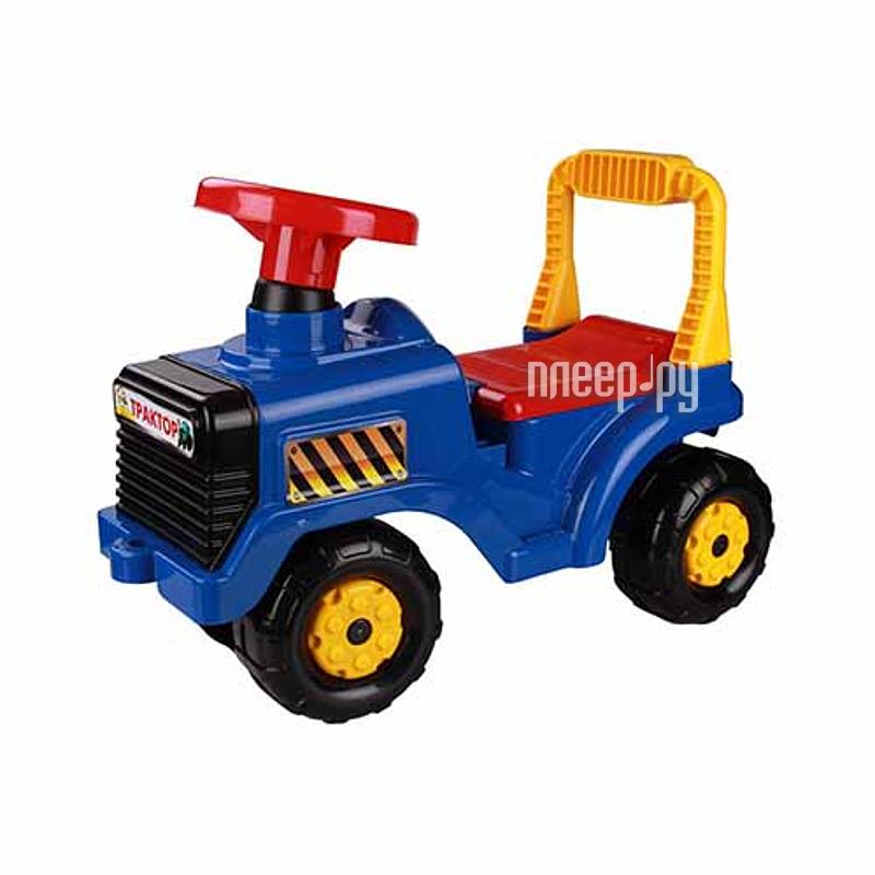 Игрушка Альтернатива Трактор М4942 Blue купить