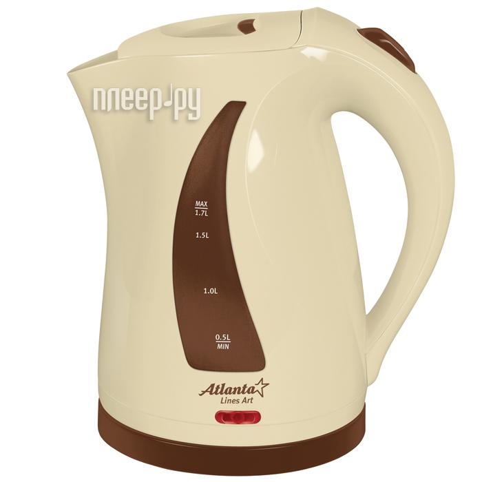 Чайник Atlanta ATH-673 Brown
