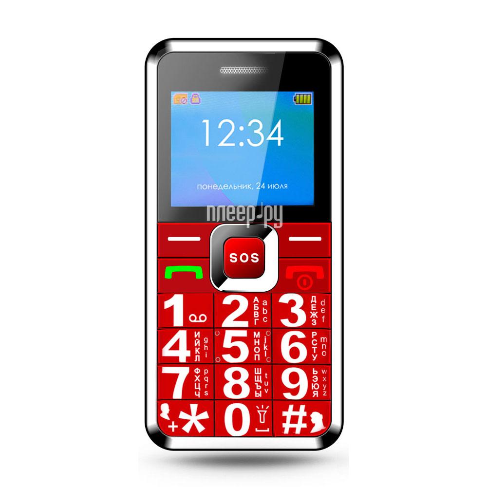 Сотовый телефон Ginzzu MB501 Red