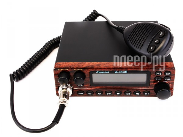 Рация Megajet MJ-3031M  Pleer.ru  4098.000