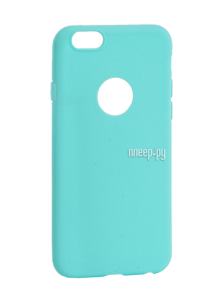 Аксессуар Чехол Krutoff Silicone для iPhone 6 / 6S Green 11807