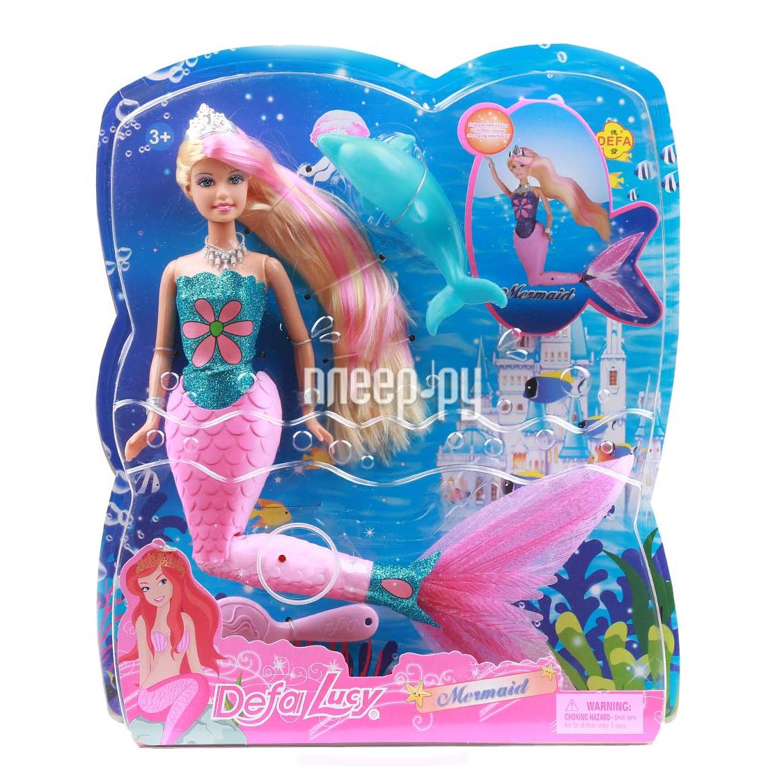 Кукла Defa Lucy Русалка 8243