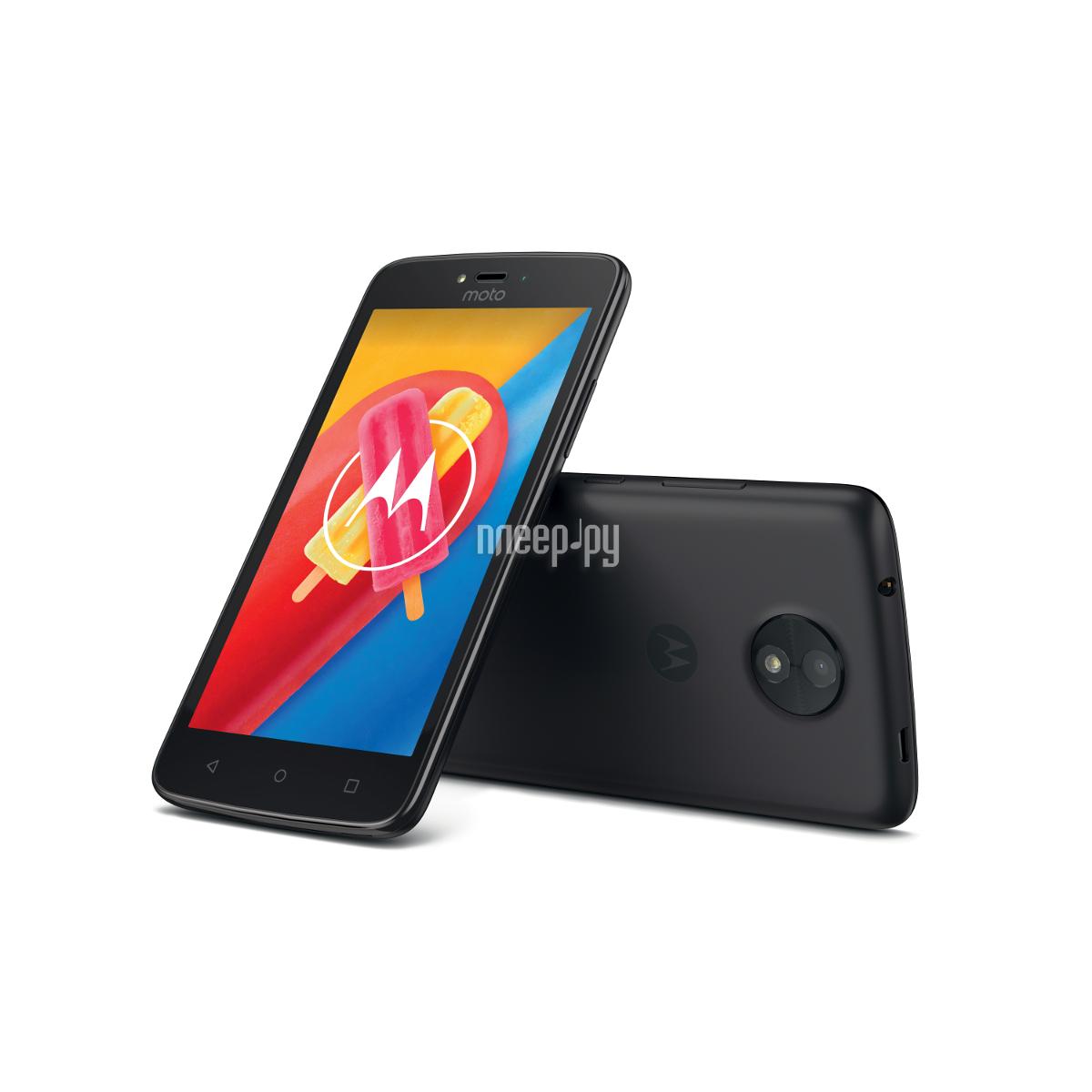 Сотовый телефон Motorola Moto C LTE 16Gb XT1754 Starry Black