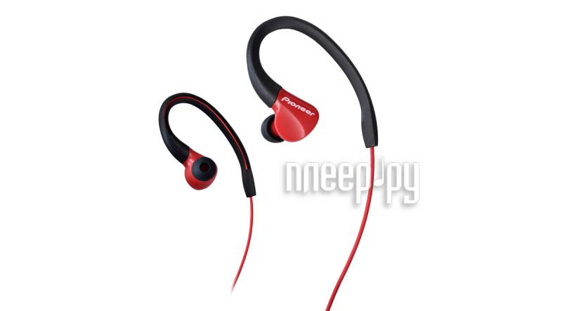 Наушники Pioneer SE-E3-R Red