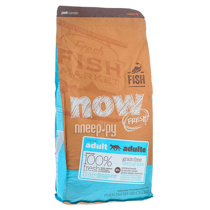 Корм NOW FRESH Беззерновой c Форелью и лососем 3,63kg чувствительного пищеварения,для взрослых кошек 42855