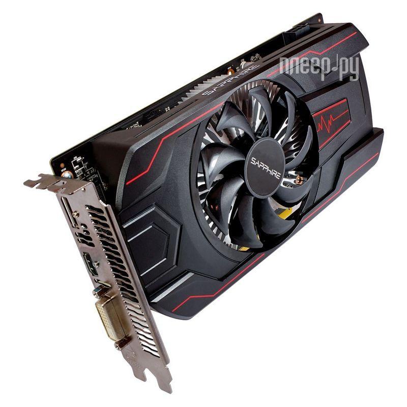 Видеокарта Sapphire Pulse Radeon RX 560 1300Mhz PCI-E 3.0 4096Mb 7000Mhz 128 bit DVI HDMI HDCP 11267-00-20G