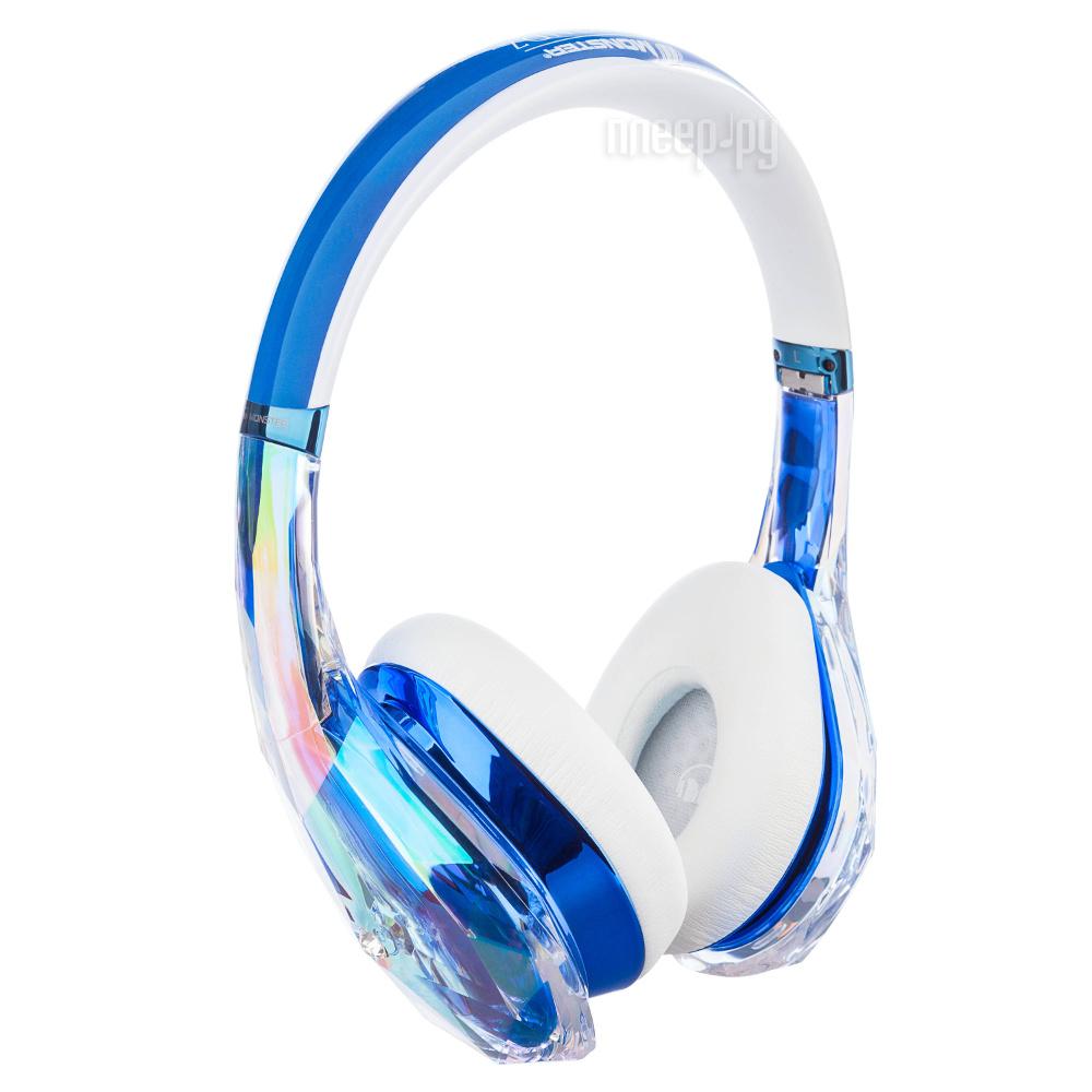Гарнитура Monster DiamondZ Clear Blue On-Ear 137028-00