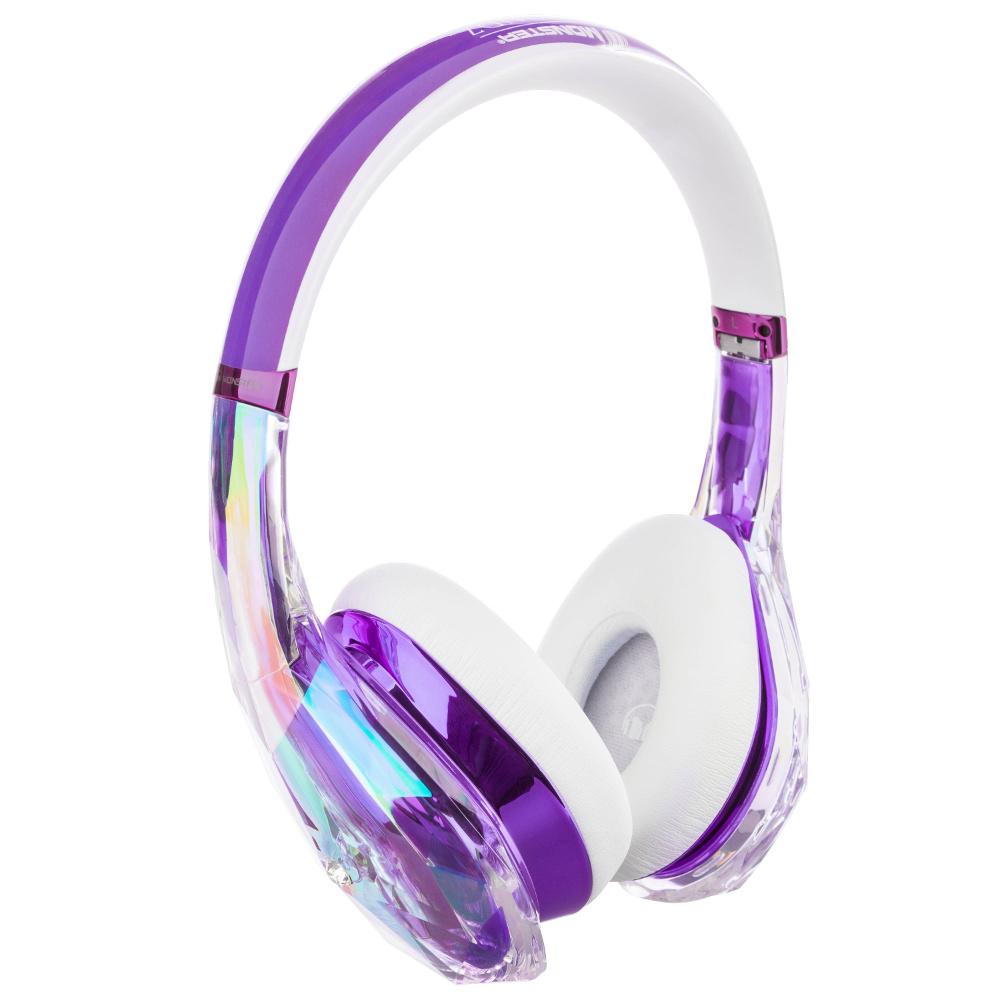 Гарнитура Monster DiamondZ Purple and White On-Ear 137016-00 купить