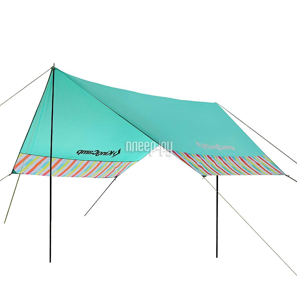 Тент KingCamp Garda Rainbow Turquoise 129007 / 9007