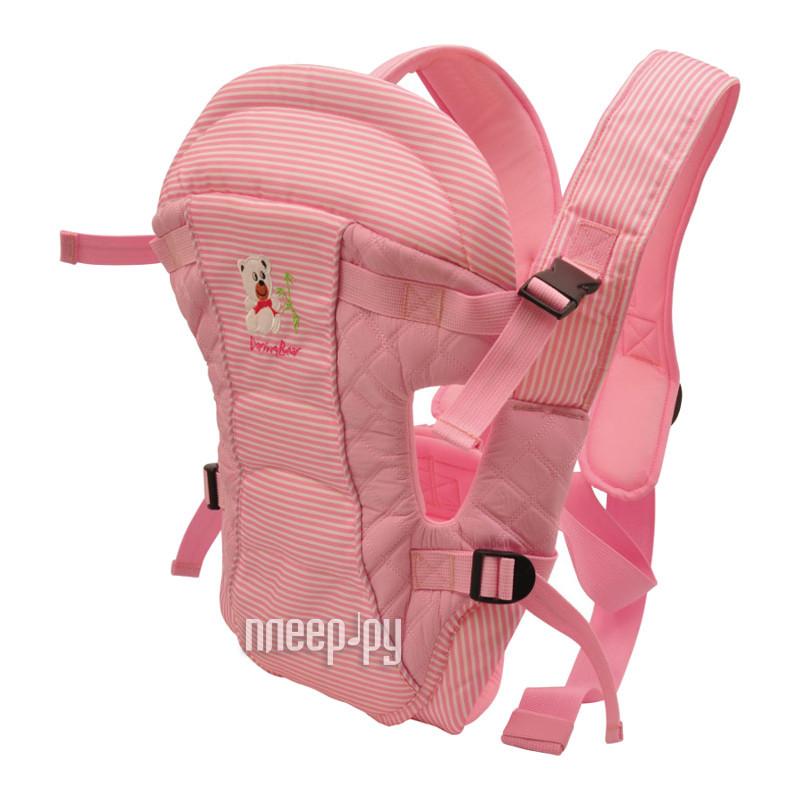 Эргорюкзак Baby Care HS-3183 Pink за 780 рублей