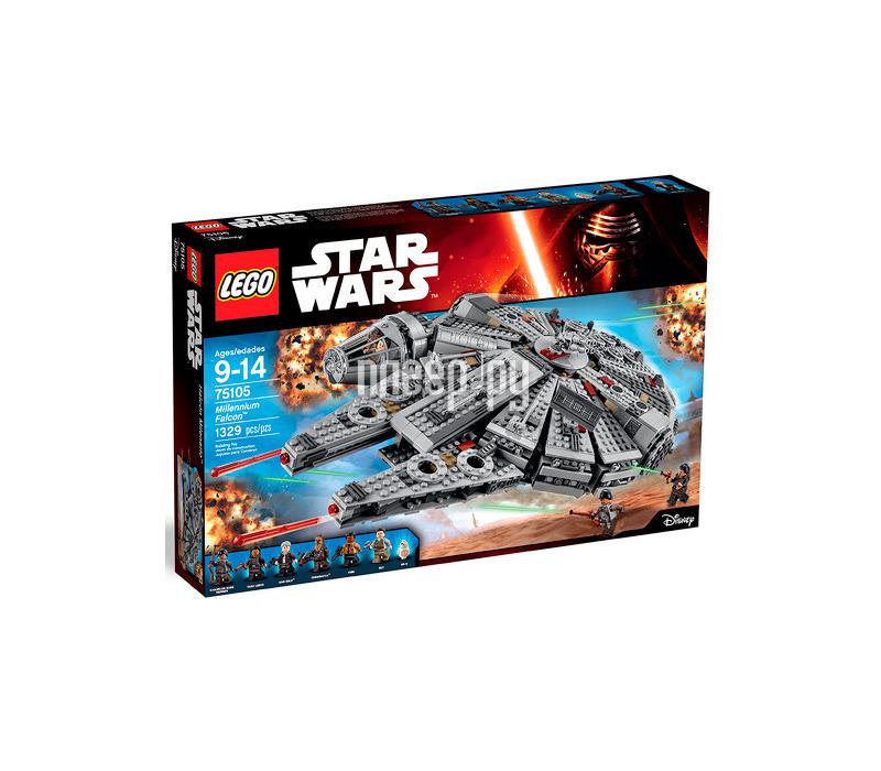 Конструктор Lego Star Wars Сокол тысячелетия 75105