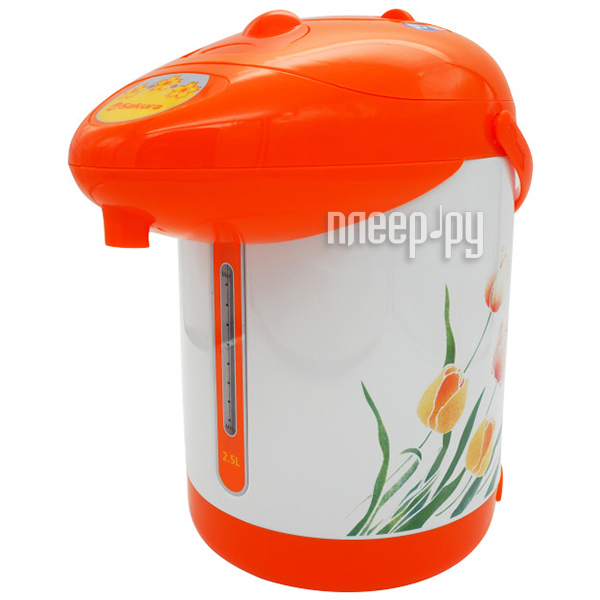 Термопот Sakura SA-362WY LIGHT White-Orange за 974 рублей