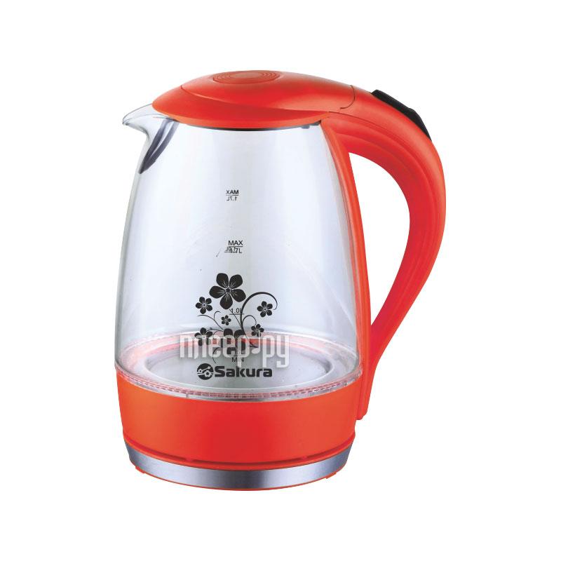 Чайник Sakura SA-2710 Red