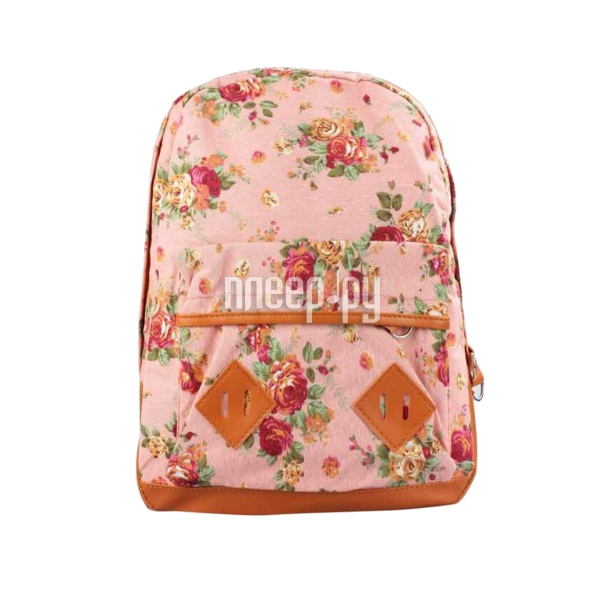 Рюкзак Megamind М5680 Flowers Pink