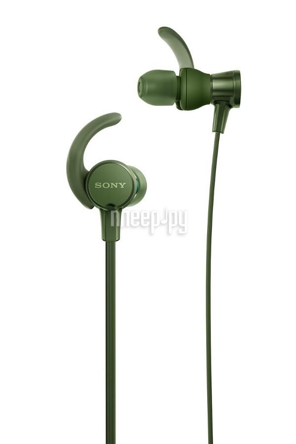 Гарнитура Sony MDR-XB510AS Green