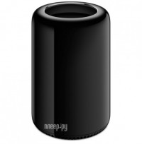 Настольный компьютер APPLE Mac Pro MQGG2RU/A (Intel Xeon E5 3.0GHz/16384Mb/256Gb SSD/2xAMD FirePro D700/Wi-Fi/Bluetooth/Mac OS)