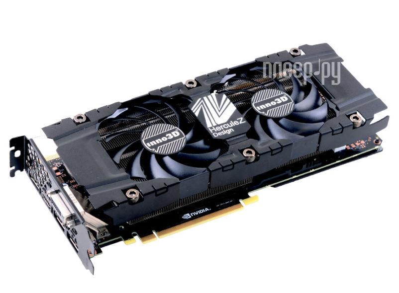 Видеокарта Inno3D GeForce GTX 1070 1506Mhz PCI-E 3.0 8192Mb 8000Mhz 256 bit DVI HDMI HDCP TWIN X2 V2 N1070-1SDV-P5DN