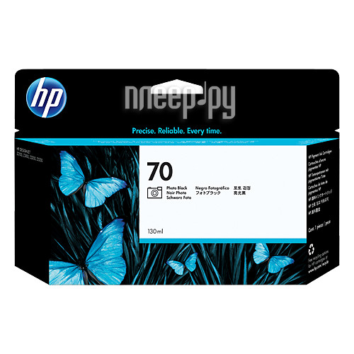 Картридж HP 70 C9449A Photo 130ml Black для HP DJ Z2100 / Z3100