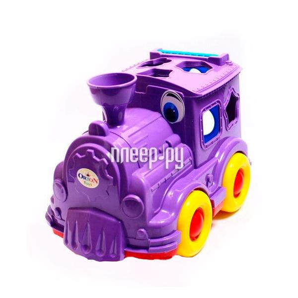 Игрушка Orion Toys Паровозик-логика Кукушка 218