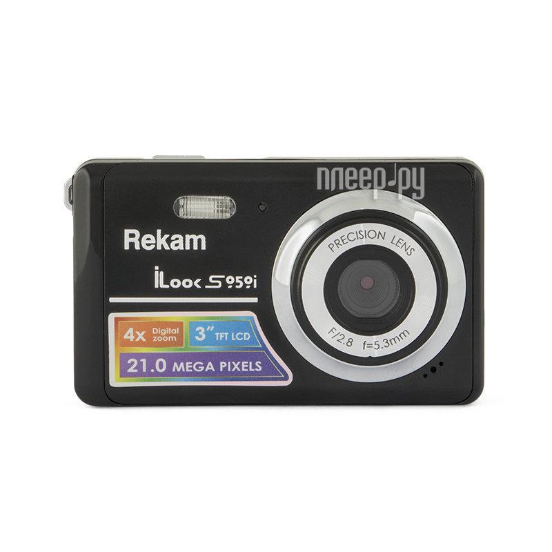 Фотоаппарат Rekam iLook S959i Metallic Black