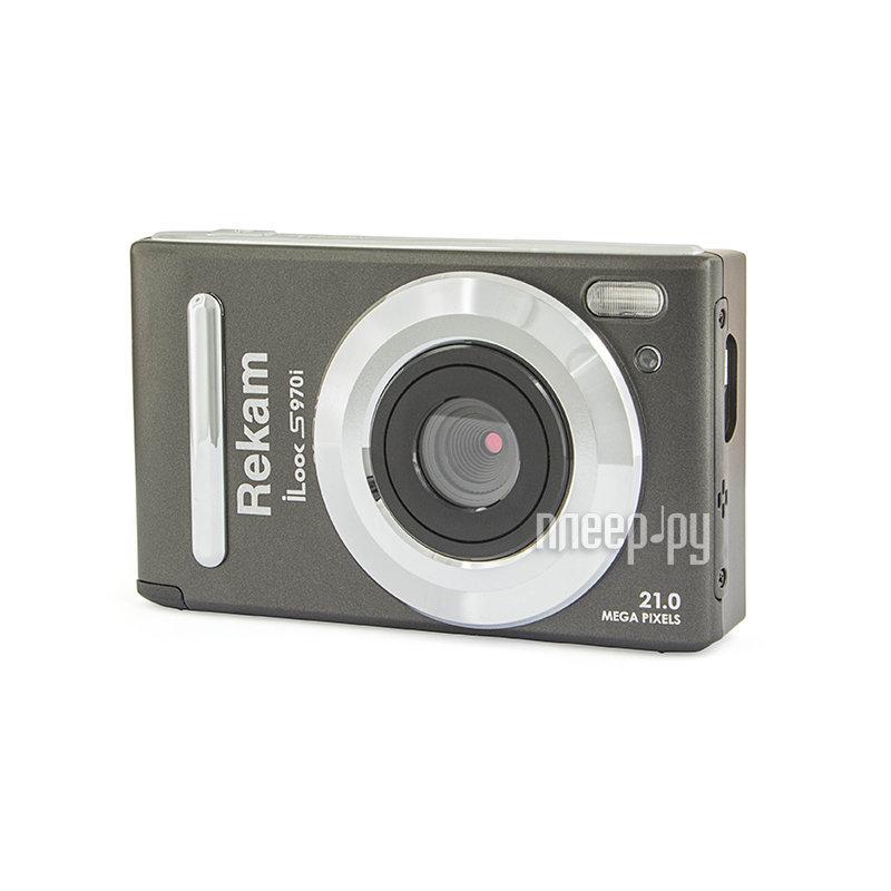 Фотоаппарат Rekam iLook S970i Metallic Black