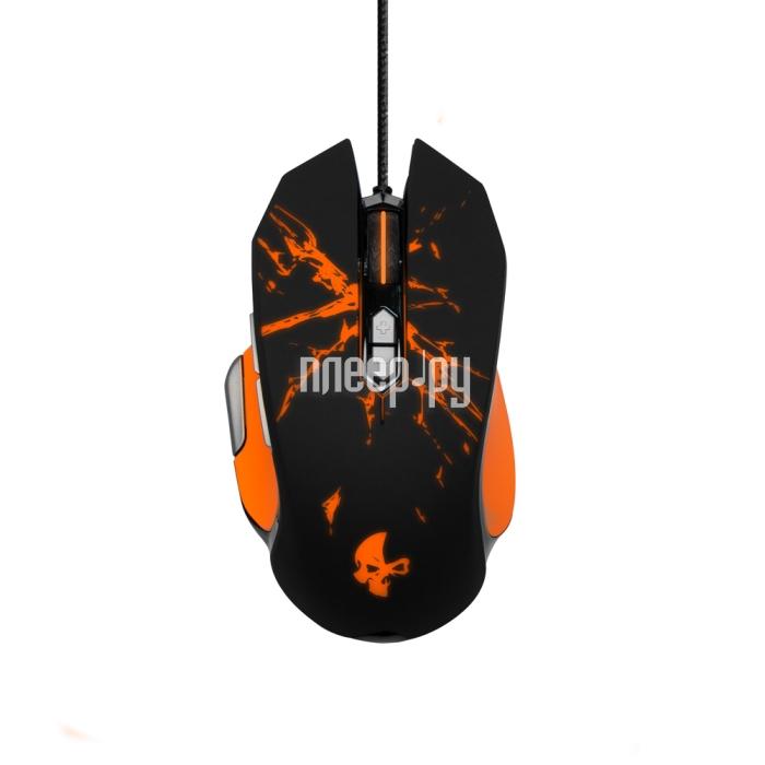 Мышь Jet.A Geryon JA-GH21 Black-Orange
