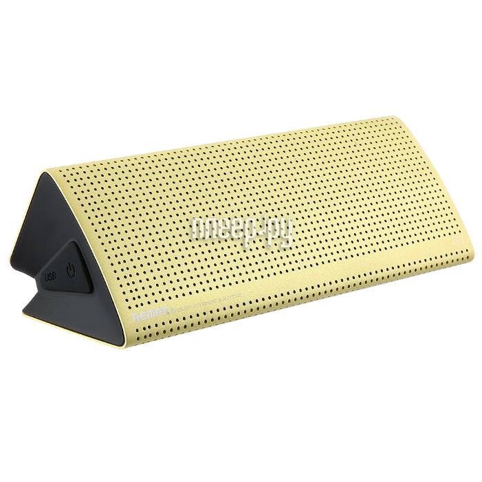 Колонка Remax RB-M7 Yellow за 2621 рублей