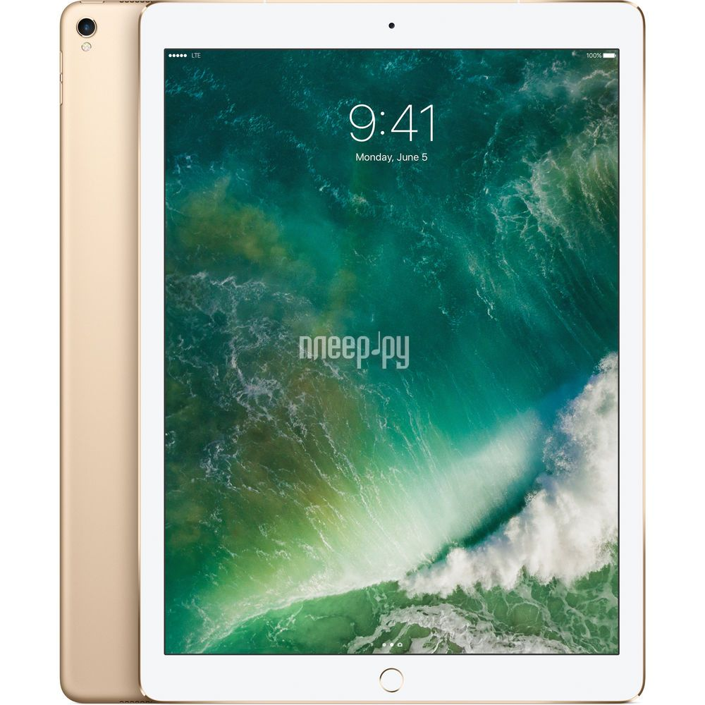 Планшет APPLE iPad Pro 2017 12.9 64Gb Wi-Fi + Cellular Gold MQEF2RU / A
