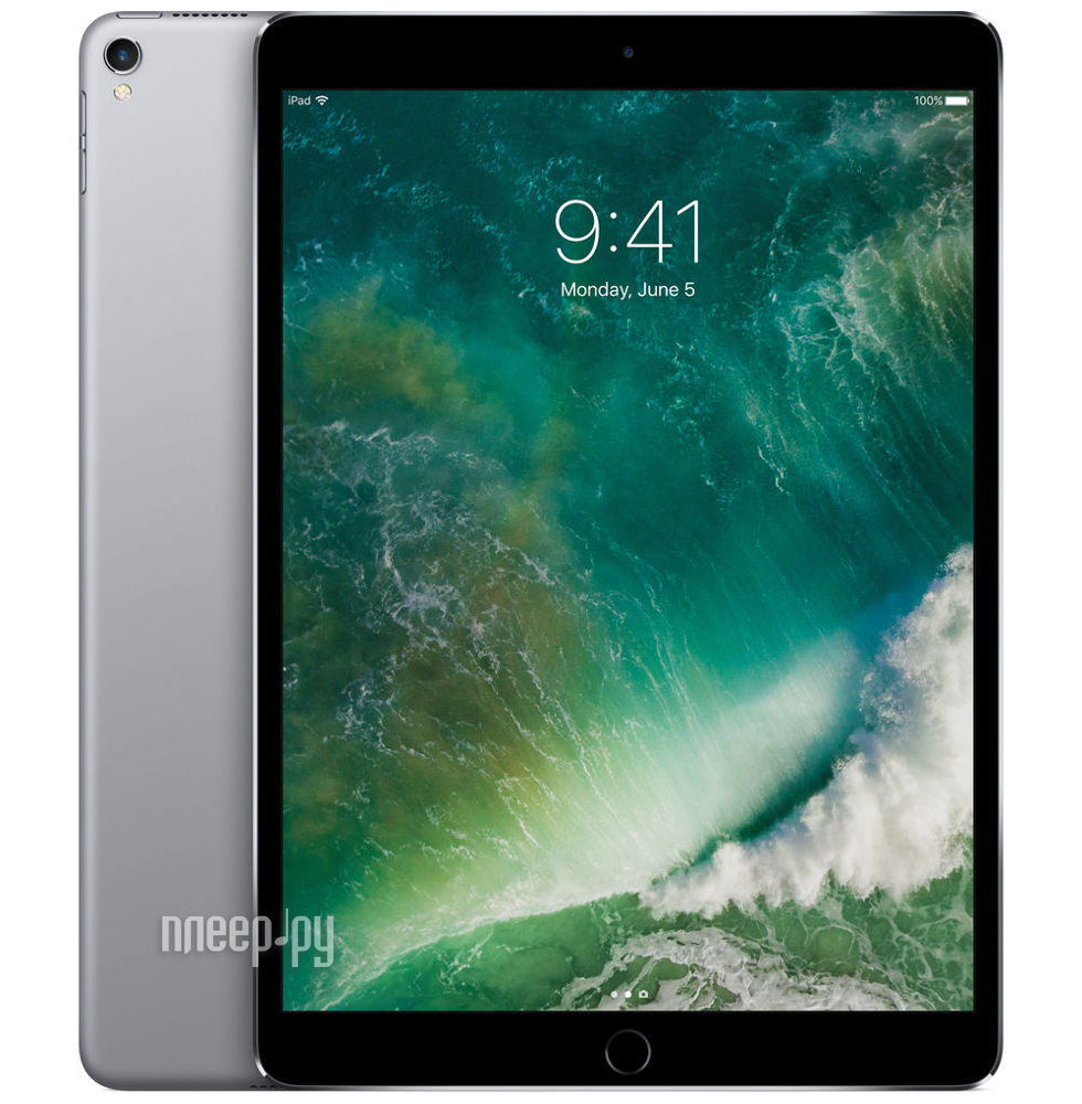 Планшет APPLE iPad Pro 2017 10.5 512Gb Wi-Fi Space Grey MPGH2RU / A