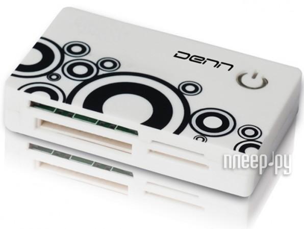 Карт-ридер DENN DCR 451 White