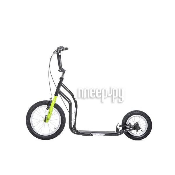 Самокат Yedoo City Black-Green 111403