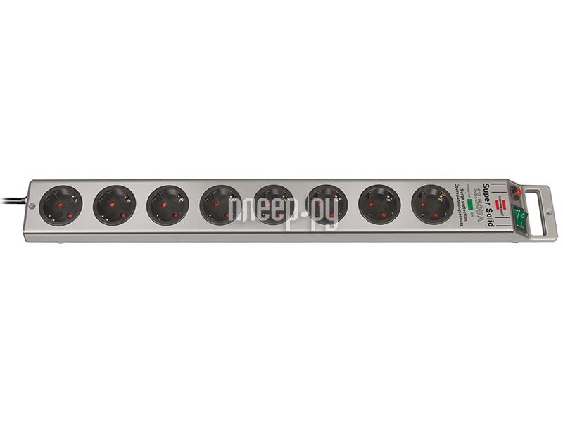 Сетевой фильтр Brennenstuhl Super-Solid 8 Sockets 2.5m 1153340318  Pleer.ru  1430.000