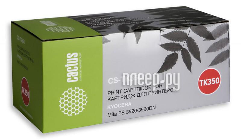 Картридж Cactus Black для Mita FS 3920 / 3920DN 15000стр. CS-TK350
