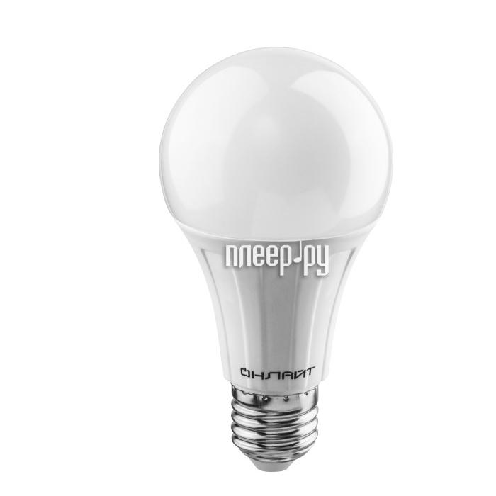 Лампочка ОнЛайт 61 151 OLL-A60-15-230-6.5K-E27