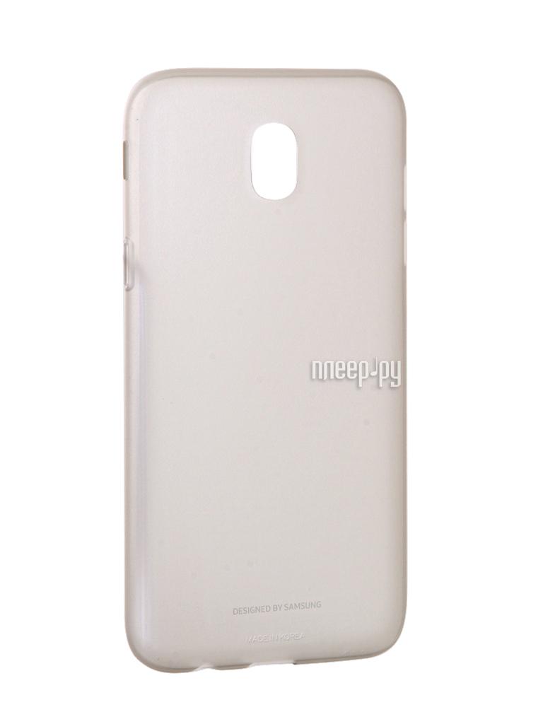 Аксессуар Чехол Samsung Galaxy J5 2017 SM-J530 Jelly Cover Gold SAM-EF-AJ530TFEGRU
