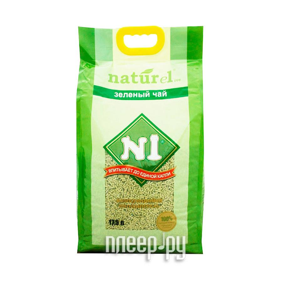 1 наполнитель naturel зеленый чай комкующийся