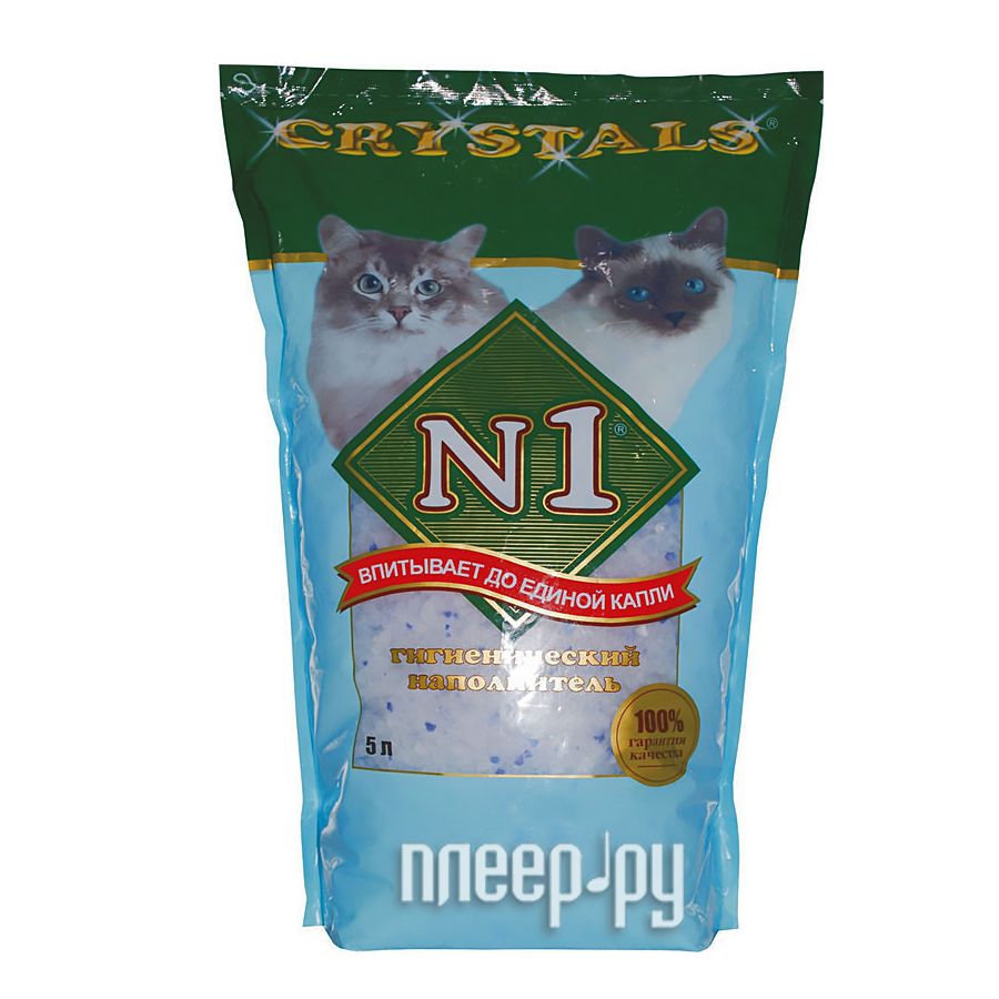 Наполнитель N1 Crystals-Силикагелевый 5L 92201