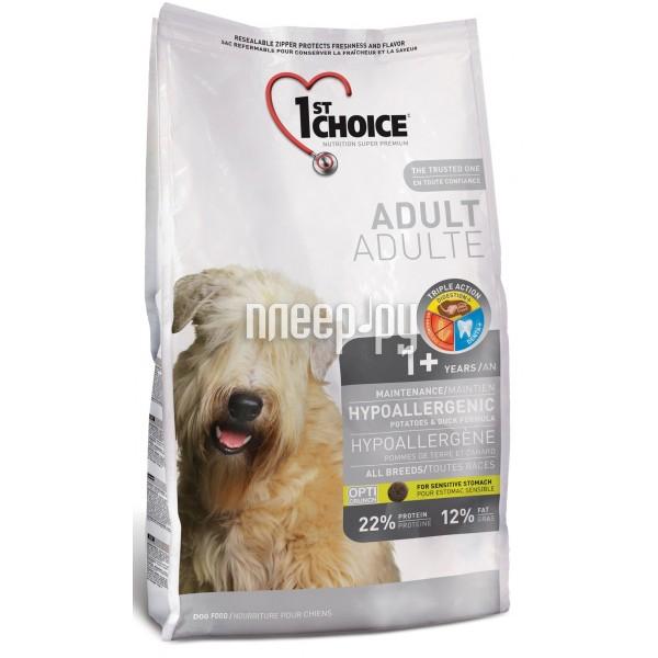 Корм 1st Choice Утка картофель 6kg для собак гипоаллергенный 102.324
