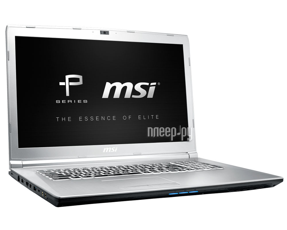 Ноутбук MSI PE72 7RD-840XRU 9S7-1799C9-840 (Intel Core i7-7700HQ 2.8 GHz / 16384Mb / 1000Gb + 128Gb SSD / nVidia GeForce GTX 1050 2048Mb / Wi-Fi / Bluetooth / Cam / 17.3 / 1920x1080 / DOS)