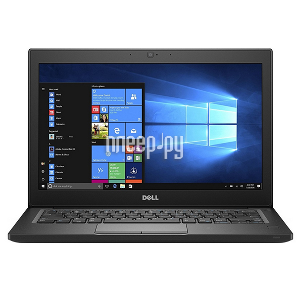 Ноутбук Dell Latitude 7280 7280-9255 (Intel Core i5-7200U 2.5 GHz / 8192Mb / 256Gb SSD / No ODD / Intel HD Graphics / Wi-Fi / Bluetooth / Cam / 12.5 / 1920x1080 / Linux)