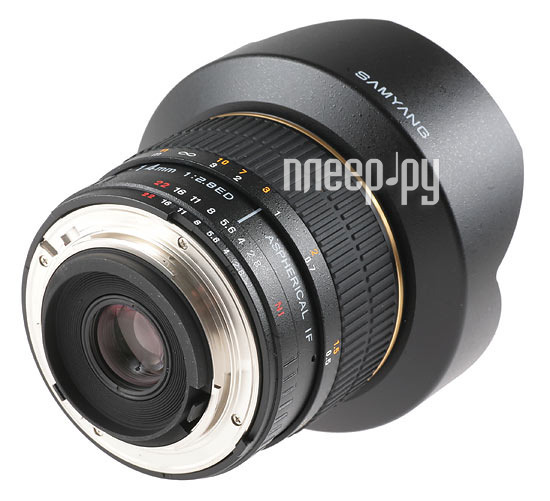 Объектив Samyang Samsung NX MF 14 mm F/2.8 AS IF UMC  Pleer.ru  12555.000