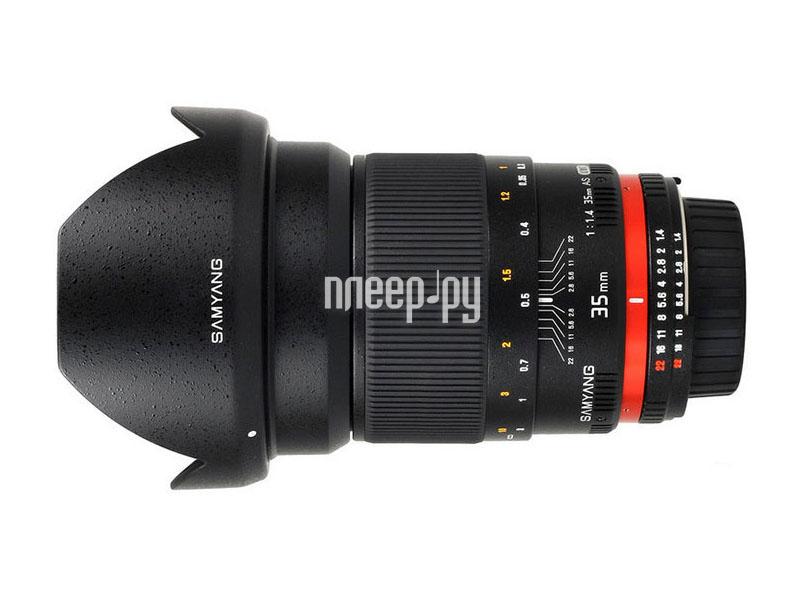 Объектив Samyang Samsung NX MF 35 mm F/1.4  Pleer.ru  17443.000
