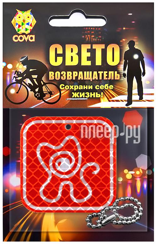 Светоотражатель Cova Подвеска Котик 50mm 333-250