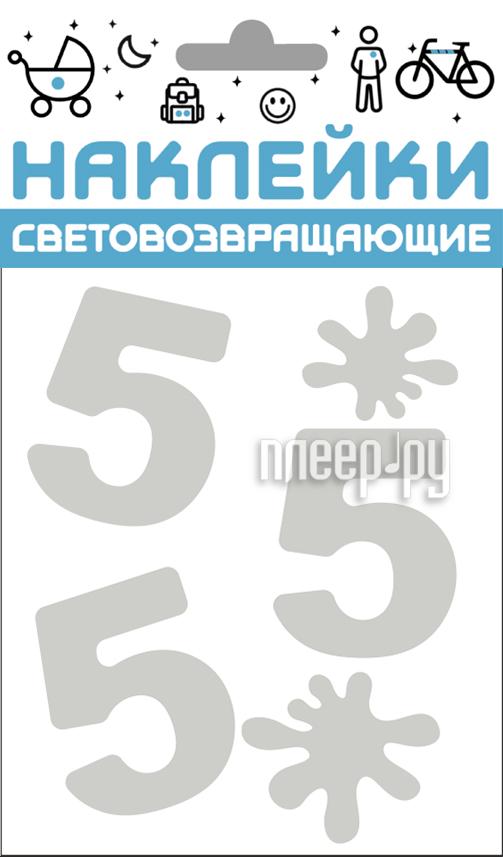 Светоотражатель Cova Наклейки Отличник 100x85mm Metallic 333-416