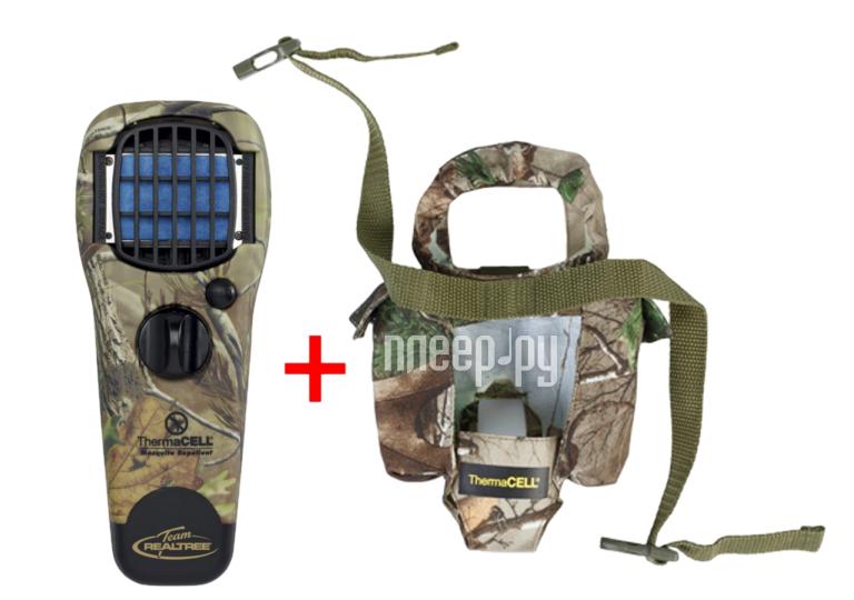 Средство защиты от комаров ThermaCELL MR STJ Camouflage (прибор + 1 газовый картридж + 3 пластины + чехол)