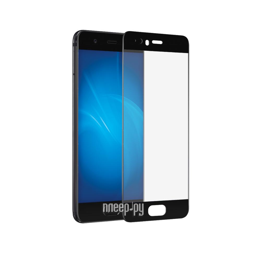 Аксессуар Защитное стекло Huawei P10 Plus DF Fullscreen hwColor-10 Black