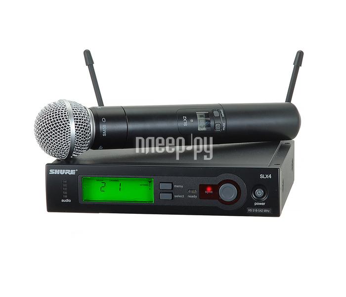 Радиосистема SHURE SLX24E / 58 L4E