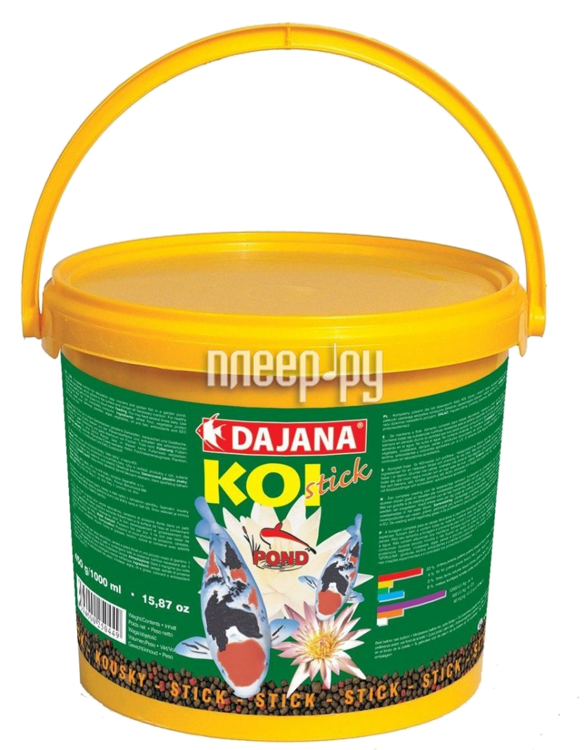 Корм Dajana Koi Stick 5000ml для рыб DP303F
