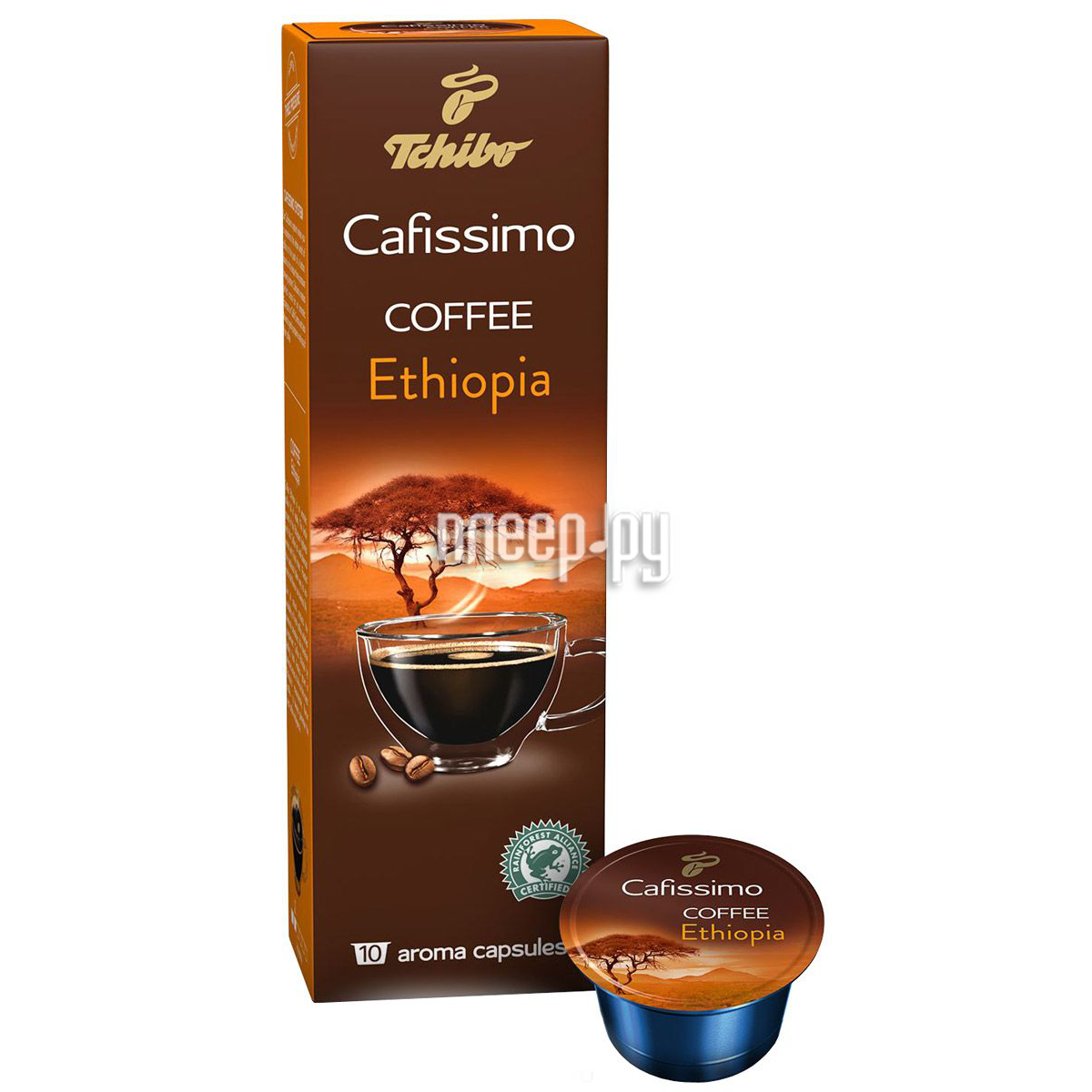 Капсулы Tchibo Kaffee Ethiopia 10шт